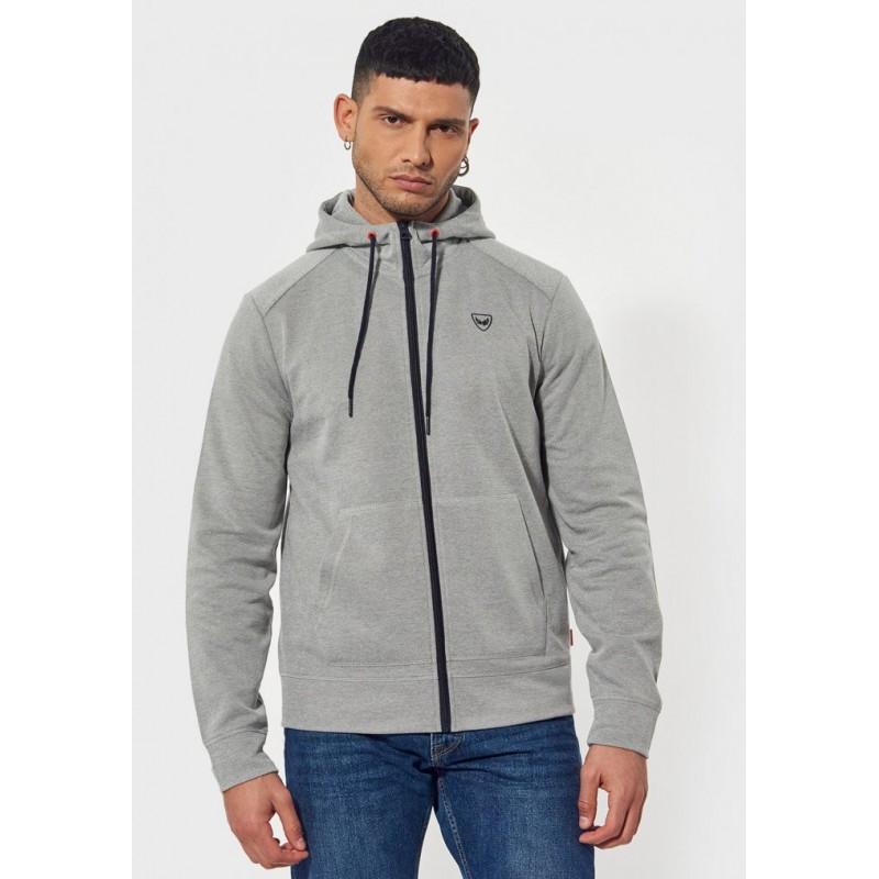 sweatshirt zippé kaporal